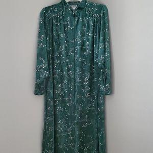 Anthony Richards Zippered long Robe